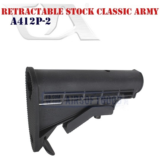 Retractable Stock CLASSIC ARMY (A412P-2)