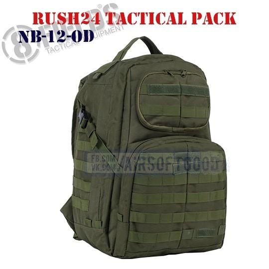 Rush24 Tactical BackPack OD 8FIELDS (NB-12-OD)