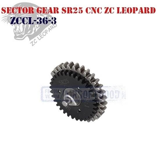 Sector Gear Torque SR25 CNC ZC Leopard (ZCCL-36-3)