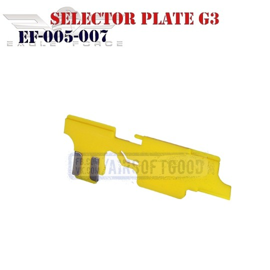 Selector Plate G3 POM Eagle Force (EF-005-007)