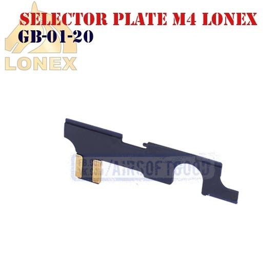 Selector Plate M4 Anti-Heat LONEX (GB-01-20)