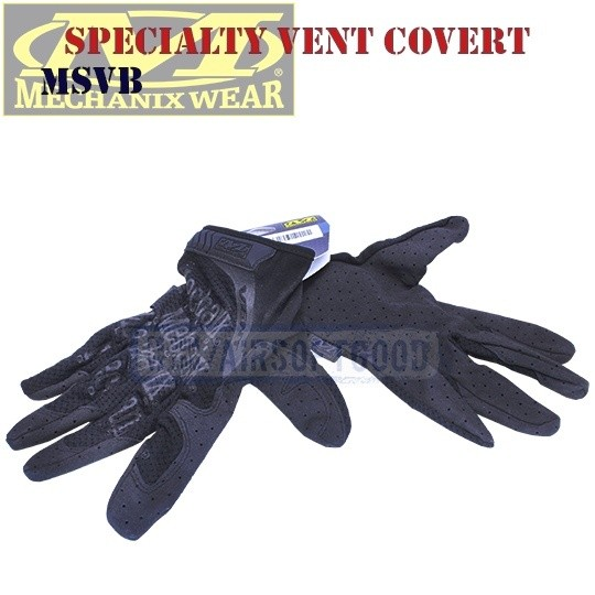 Shooting Gloves Specialty Vent Cover Old-Version Mechanix (MSVB)