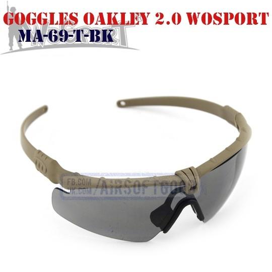 Shooting Goggles Oakley M 2.0 DE WoSporT (MA-69-T-BK)