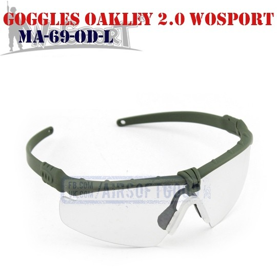 Shooting Goggles Oakley M 2.0 Olive WoSporT (MA-69-OD-L)