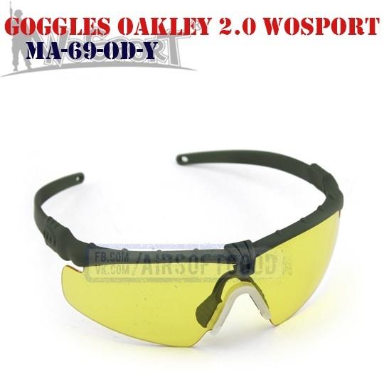Shooting Goggles Oakley M 2.0 Olive WoSporT (MA-69-OD-Y)