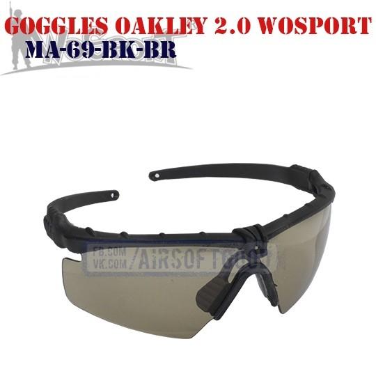 Shooting Goggles Oakley M 2.0 WoSporT (MA-69-BK-BR)