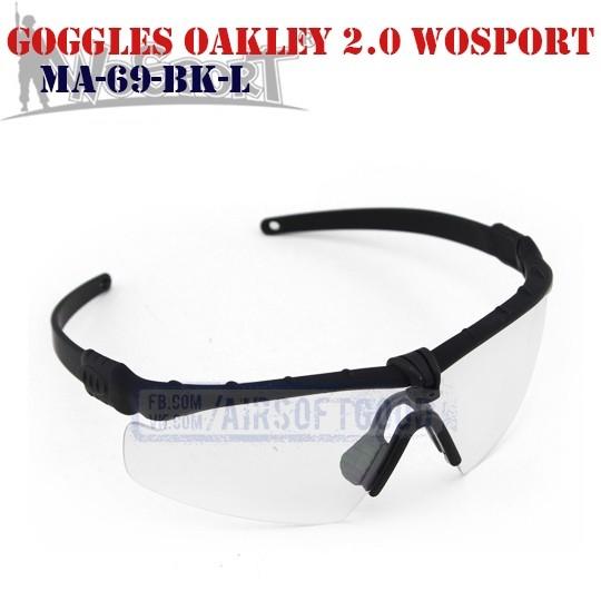 Shooting Goggles Oakley M 2.0 WoSporT (MA-69-BK-L)