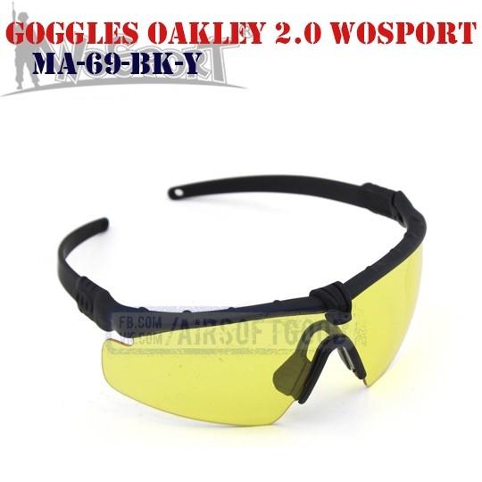 Shooting Goggles Oakley M 2.0 WoSporT (MA-69-BK-Y)
