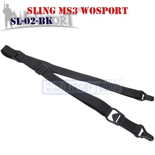 Sling MS3 MAGPUL Black WoSporT (SL-02-BK)