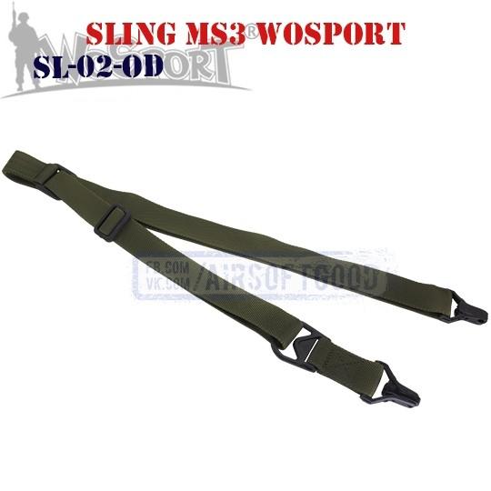 Sling MS3 MAGPUL OD WoSporT (SL-02-OD)
