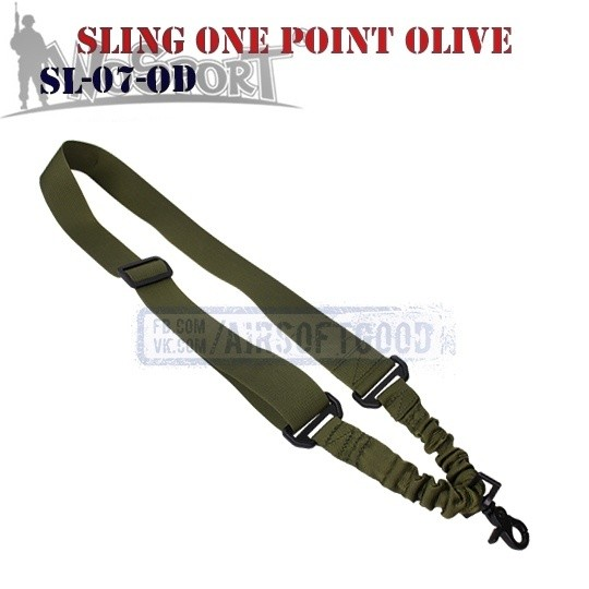 Sling Tactical One Point Olive WoSporT (SL-07-OD)