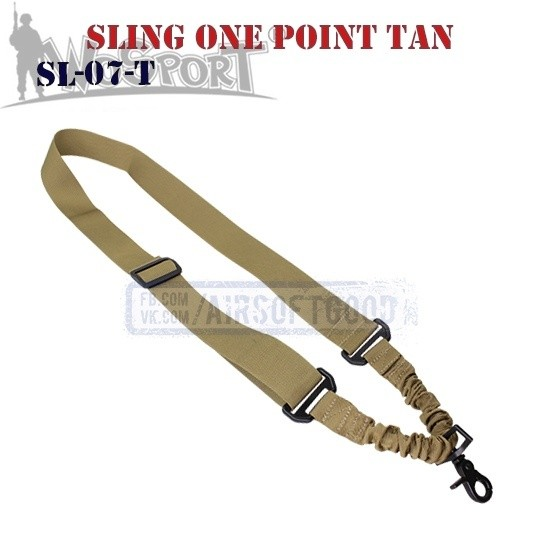 Sling Tactical One Point TAN WoSporT (SL-07-T)