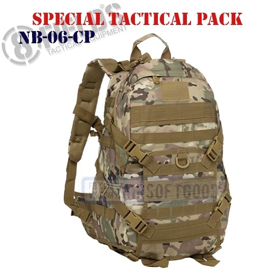 Special BackPack Tactical MULTICAM 8FIELDS (NB-06-CP)