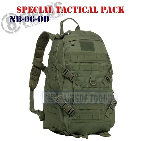 Special BackPack Tactical OD 8FIELDS (NB-06-OD)