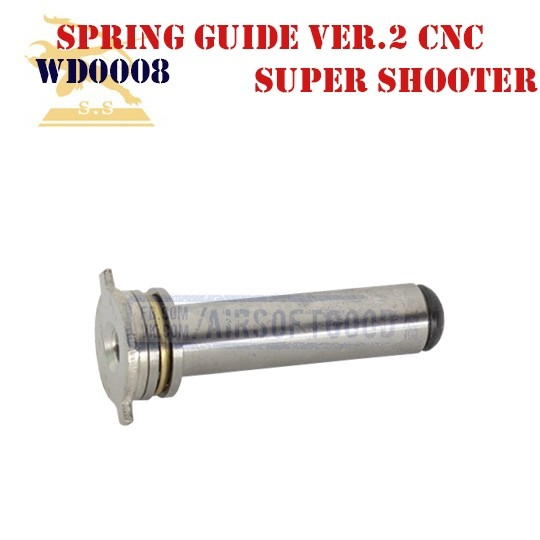Spring Guide Version 2 High Intensity Stainless Steel CNC Super Shooter (WD0008)