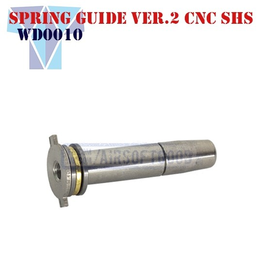 Spring Guide Version 2 Stainless Steel CNC SHS (WD0010)