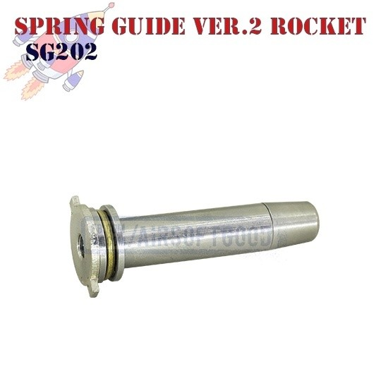 Spring Guide Version 2 Stainless Steel ROCKET (SG202)