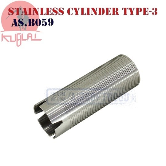 Stainless Steel Cylinder Type-3 KUBLAI (AS.B059)