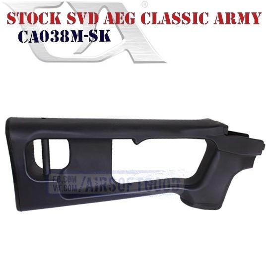 Stock SVD AEG Classic Army (CA038M-SK)