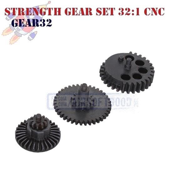 Strength Gear Set Infinite Torque 32:1 CNC ROCKET (GEAR32)