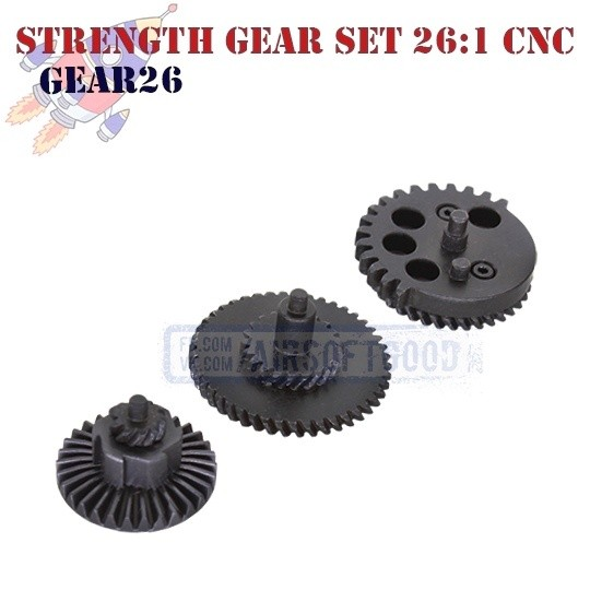 Strength Gear Set Ultra Torque 26:1 100:300 CNC ROCKET (GEAR26)