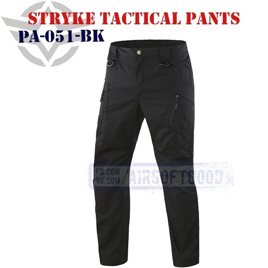 Stryke Tactical Pants Black ESDY (PA-051-BK)