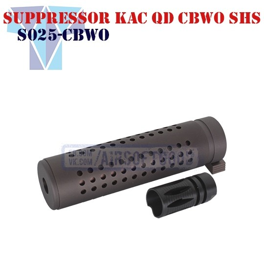 Suppresor KAC QD CBWO SHS (S025-CBWO)