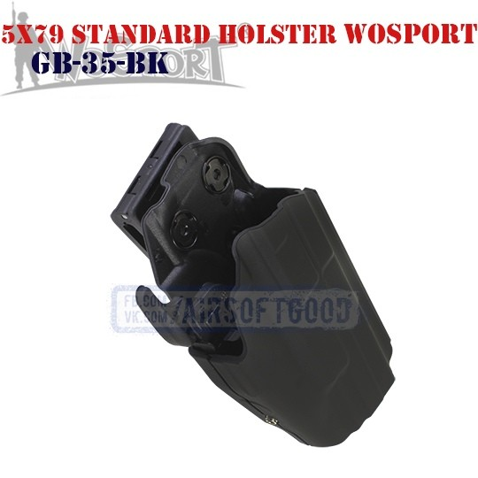 Tactical 5x79 Standard Holster Black WoSporT (GB-35-BK)