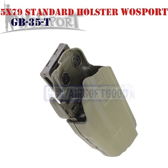 Tactical 5x79 Standard Holster DE WoSporT (GB-35-T)