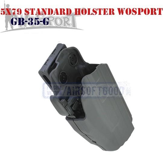 Tactical 5x79 Standard Holster Grey WoSporT (GB-35-G)