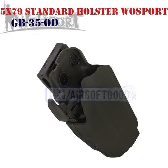Tactical 5x79 Standard Holster OD WoSporT (GB-35-OD)
