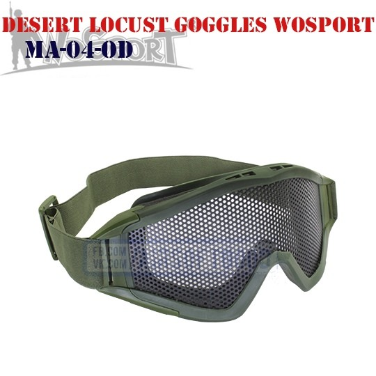 Tactical Desert Locust Goggles Olive WoSporT (MA-04-OD)