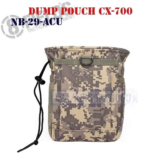 Tactical Dump Pouch CX-700 ACU 8FIELDS (NB-29-ACU)