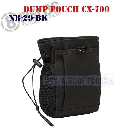 Tactical Dump Pouch CX-700 Black 8FIELDS (NB-29-BK)