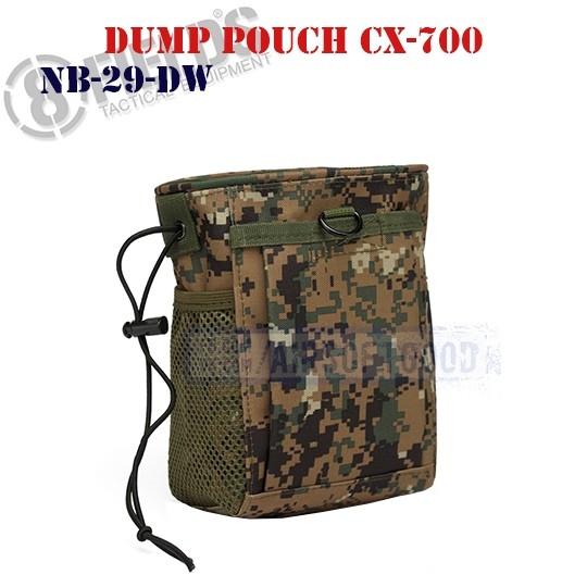 Tactical Dump Pouch CX-700 MARPAT 8FIELDS (NB-29-DW)
