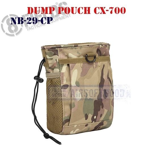 Tactical Dump Pouch CX-700 MULTICAM 8FIELDS (NB-29-CP)