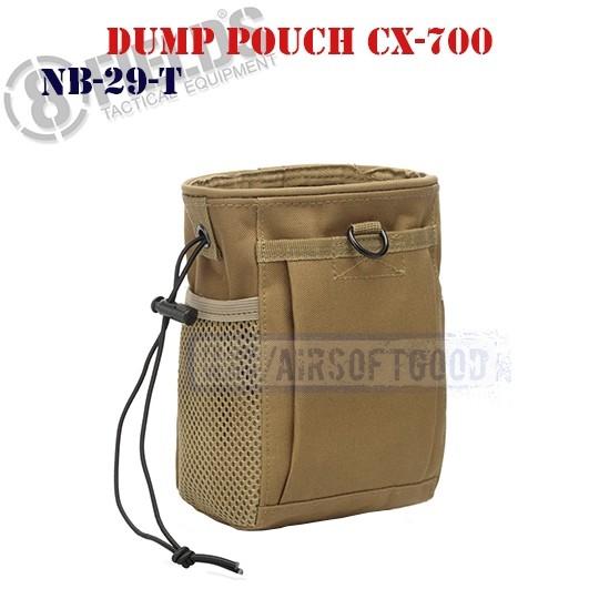 Tactical Dump Pouch CX-700 TAN 8FIELDS (NB-29-T)