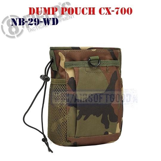 Tactical Dump Pouch CX-700 Woodland 8FIELDS (NB-29-WD)