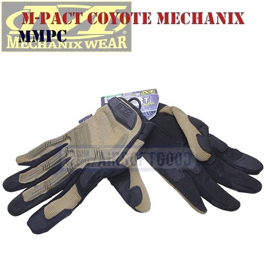 Tactical Gloves M-Pact Coyote Old-Version Mechanix (MMPC)