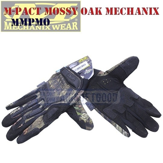 Tactical Gloves M-Pact Mossy Oak Old-Version Mechanix (MMPMO)