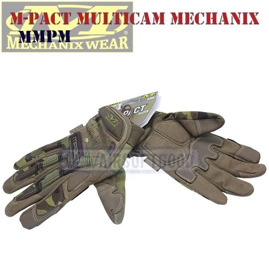 Tactical Gloves M-Pact Multicam Old-Version Mechanix (MMPM)