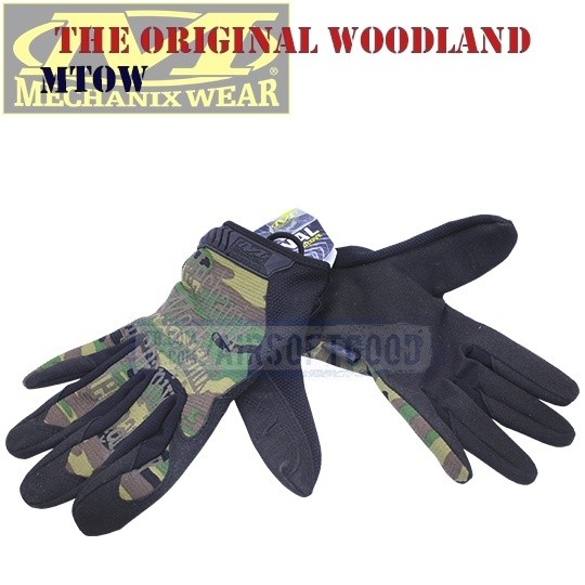 Tactical Gloves The Original Woodland Old-Version Mechanix (MTOW)