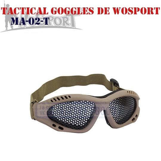 Tactical Goggles DE WoSporT (MA-02-T)