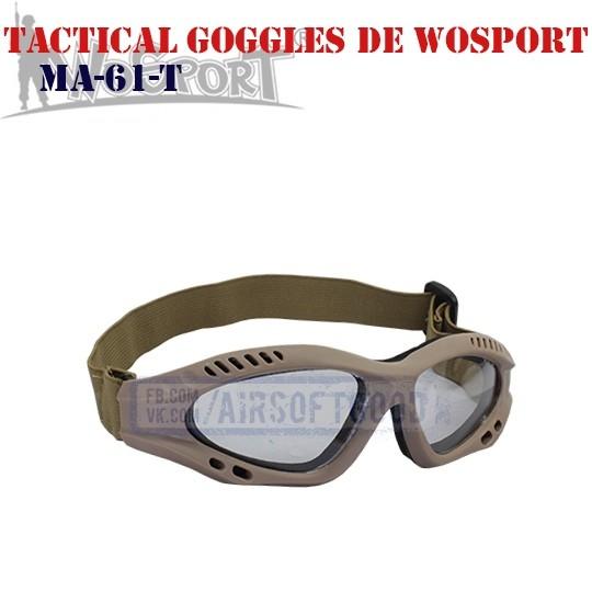 Tactical Goggles Protective DE WoSporT (MA-61-T)