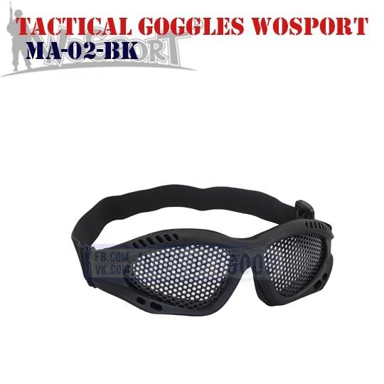 Tactical Goggles WoSporT (MA-02-BK)