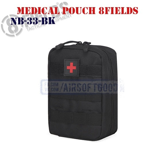 Tactical Medical Pouch Black 8FIELDS (NB-33-BK)