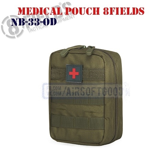 Tactical Medical Pouch OD 8FIELDS (NB-33-OD)