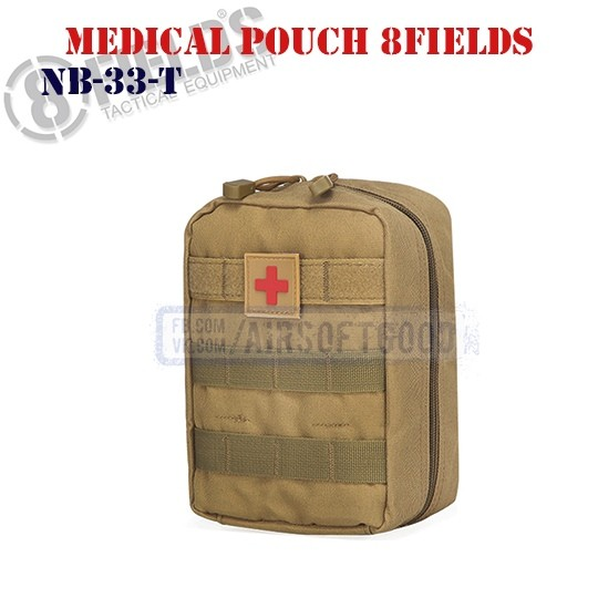 Tactical Medical Pouch TAN 8FIELDS (NB-33-T)