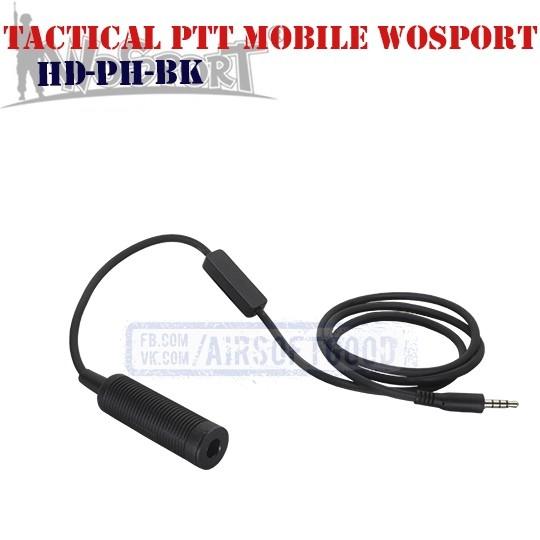Tactical PTT Mobile Phone WoSporT (HD-PH-BK)