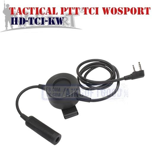 Tactical PTT TCI KENWOOD WoSporT (HD-TCI-KW)